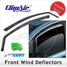 CLIMAIR Car Wind Deflectors VW Volkswagen Transporter T5 2003-2015 FRONT Pair