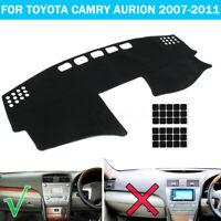 Car Dashboard Cover Dashmat Anti-slip Dash Mat For Toyota Camry Aurion 2007-2011