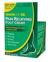 Magni Life DB Pain Relieving Foot Cream, 4 Ounce each