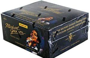 MICHAEL JACKSON PANINI UNOPENED BOX (24PACK)