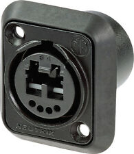Neutrik Chassis Connector NO2-4FDW-A IP65 Opticalcon D Type