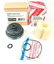 New Genuine Toyota 04152-Yzza1 Oil Filter with Housing Wrench and Crush Washer