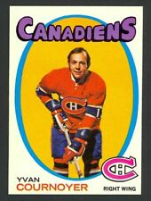 1971-72 Topps Hockey Yvan Cournoyer #15 - Montreal Canadiens - Mint