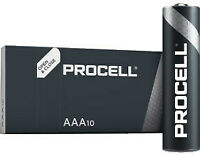 20 x Duracell AAA Industrial ~> Procell Alkaline Batteries MN2400 Sealed