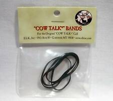 Elk Inc. Original Cow Talk Game Call Replacement Bands Package of 4 New