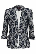 Polyester Blazers Floral Coats & Jackets for Women