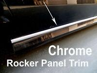 2004-2019 Ford-Models Chrome SIDE ROCKER PANEL Trim Molding Kit 2PC