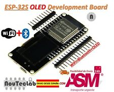 ESP32 OLED WeMOS Development Board WiFi+Bluetooth ESP-WROOM-32 ESP-32 ESP-32S