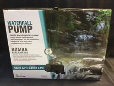 Pond Boss PW6600 Waterfall Pump, 6600 GPH Brand New For Waterfalls Up To 18ft