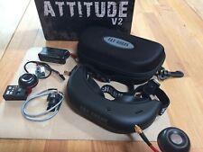 Fat-Shark Attitude V2 FPV Brille /Kit mit 25mW plus Kamera und Zubehör