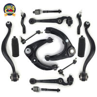 14pc Front Control Arm Ball Joint Tierod & Boots Sway Link For 03-07 Mazda 6