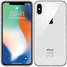 Apple iPhone X - 256GB Prata-Desbloqueado de Fábrica GSM AT&T/Smartphone Celular-T