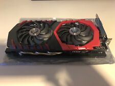 MSI Gaming X Nvidia Geforce GTX 1060 6GB Graphics Card