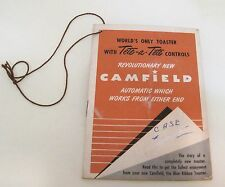Camfield Toaster with Tete- a Tete Controls Original Hang Tag T34