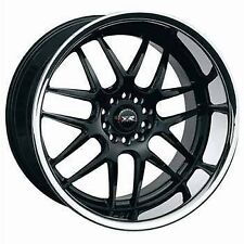 17X10 XXR 526 5X100/114.3 WHEEL +20 BLACK SILVER LIP Fits 350z G35 240sx Rx8 Rx7