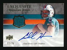 2008 EXQUISITE CHAD HENNE RC SIGNATURE JERSEY AUTO AUTOGRAPH DOLPHINS #22/25