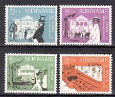 Suriname - 1958 120 years theatre society - Mi. 361-64 MNH