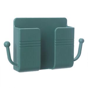 Wall Mounted Organizer Storage Box Remote Control Mobile Phone Plug Holder St L3