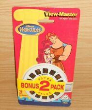 NEW 2 Pack Vintage Disney Hercules & Hunchback  Notre Dame View Master Reels
