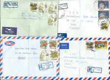 Malaysia 8 registered  air mail cover to Finland