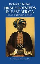 First Footsteps in East Africa; Or, an Exploration of Harar (v. 1 & 2) Burton,