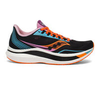 Saucony Womens Endorphin Pro Running Shoes Trainers Sneakers Black Sports
