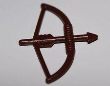 Lego Reddish Brown Bow + Arrow Minifig Weapon NEW