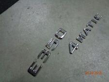 2006-2015 Mercedes-Benz W212 E200 E250 E350 4-MATIC TRUNK EMBLEM BADGE W211 W210
