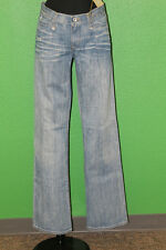 ROGAN Women's Narrow Pant Texas Blue Light Wash Jeans 100% Cotton Size 29 $198