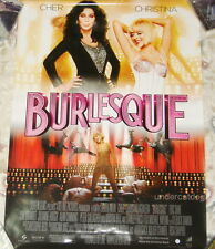 Burlesque Taiwan Promo Movie Poster (Christina Aguilera Cher)