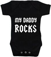 My Daddy Rocks Bodysuit or T-Shirt Girl