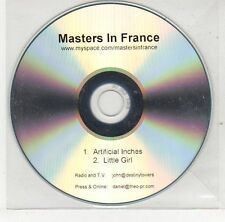 (EJ222) Masters In France, Artificial Inches / Little Girl - DJ CD
