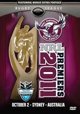 2011 NRL PREMIERS - MANLY SEA EAGLES DVD Full Grand Final Free Post