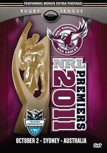 NRL - 2011 Premiers Manly Sea Eagles (DVD, 2011) brand new sealed