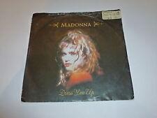 "MADONNA - Dress You Up - 1985 UK Sire 2-track 7"" Juke Box Vinyl Single In Sleeve"