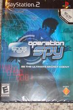 PS2 Playstation 2 EYE TOY Operation SPY-NEW-EYE TOY USB Camera sold separately