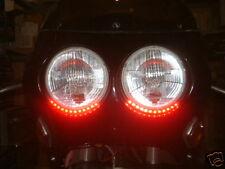 Tira de luz LED rojo freno trasero detener o flexible Streetfighter Trike