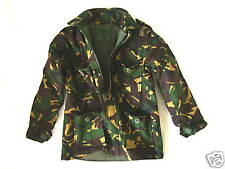 BOYS 11-12 years CAMO PADDED SOLDIER JACKET Military combat coat army green DPM