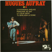 "HUGUES AUFRAY ""LE ROSSIGNOL ANGLAIS""  CD 4 TITRES"