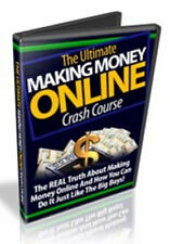 The Ultimate Making Money Online Crash Course Video Tutorials on 1 CD
