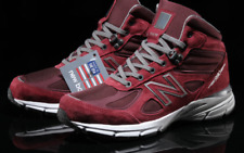 NEW BALANCE 990 Mid Shoes Burgundy Made in USA 990v4 MO990BU4