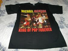"Michael Jackson "" King Of Pop Forever "" TEE [  Medium   ]"