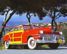 CHRYSLER TOWN and COUNTRY 1941 Fiche Auto #009027