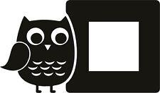 Owl Light Switch Wall Vinyl Stickers - wall sticker home decor kids baby room