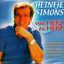 CD NEU/OVP - Heintje Simons - Von Herz zu Herz