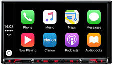 CLARION NX807E Doppel DIN 2 Navigation Apple Car Play Bluetooth iPhone kompatibe