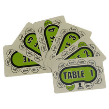 Poker Table And Seat Cards 1-5