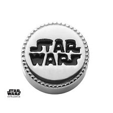 Star Wars Logo Bead 925 Sterling Silver Charm Officially Licensed