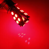 1*1157 BAY15D P21/5W LED 18SMD 5050 Error Free Brake Tail Car Red LED Light Bulb
