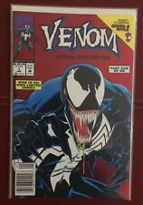 Venom Lethal Protector#1 Newsstand Variant Spider-Man Bagged Boarded Unread Mint
